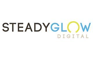 steady glow digital logo
